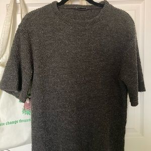 Zara Short-Sleeved Sweater